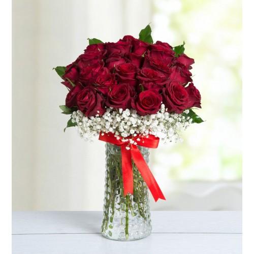 Büyülü Aşk 25 Kırmızı Güller