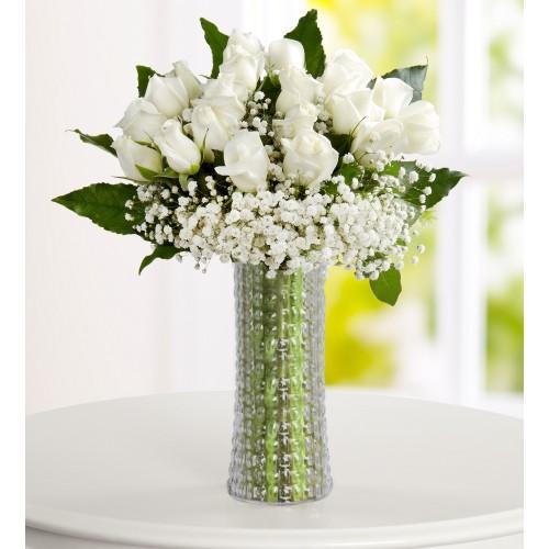 Saflığın Kalbi Beyaz Güller