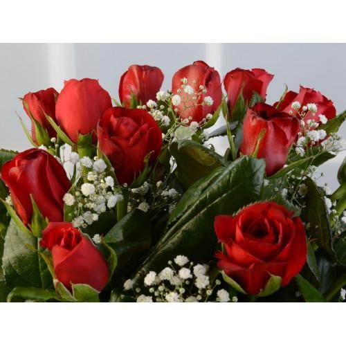 Kalpten Bağlıyım Kırmızı Güller
